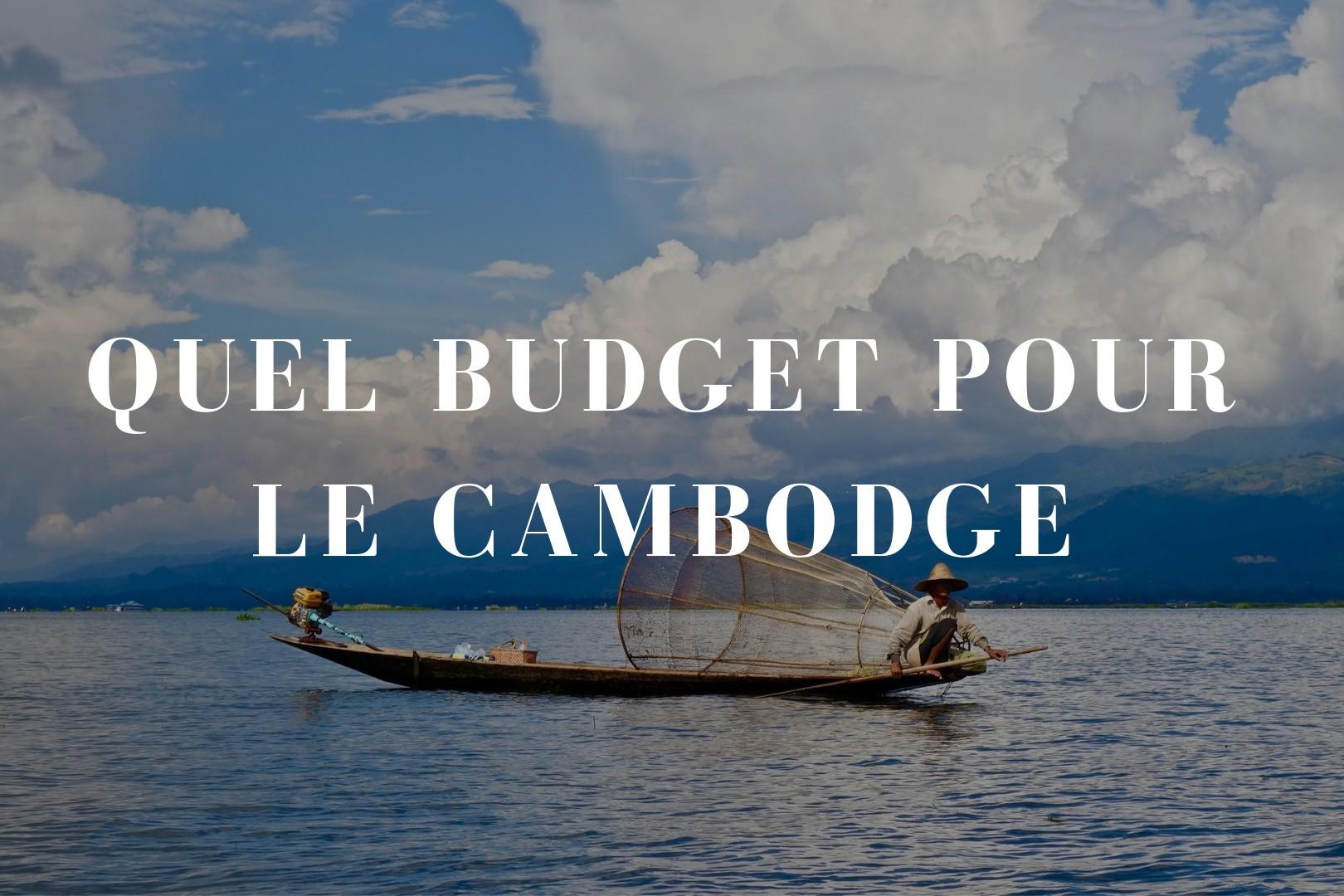 Quel budget pour le Cambodge