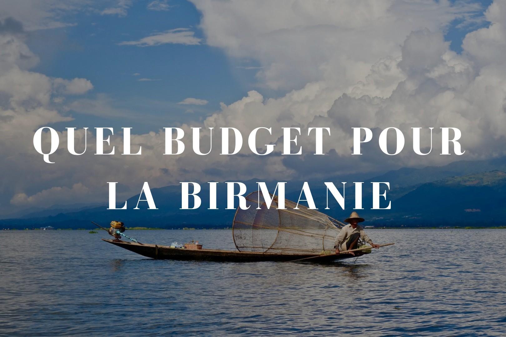 Quel budget pour la Birmanie