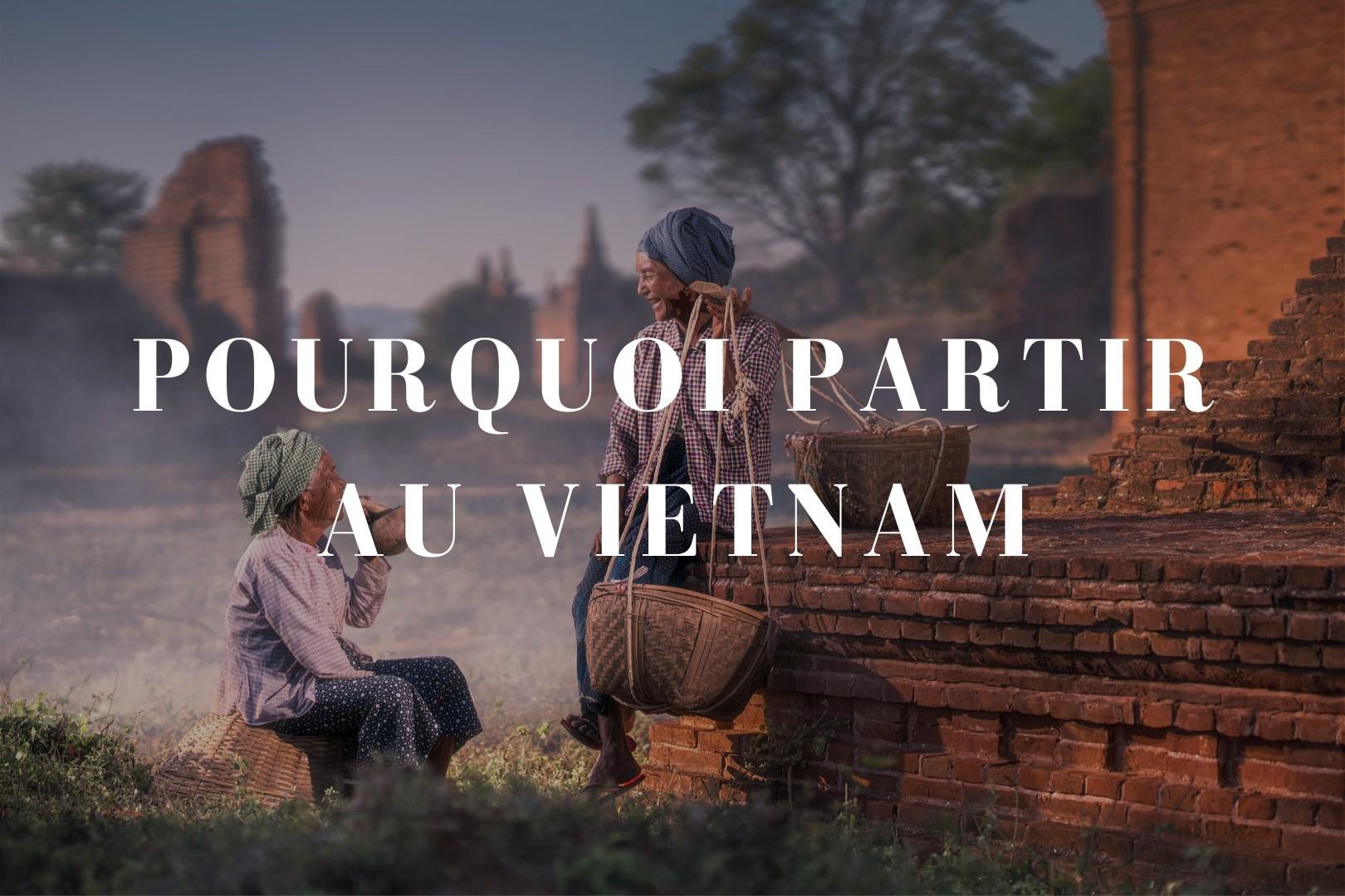 Pourquoi partir au Vietnam